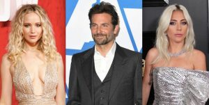 Bradley Cooper Lady Gaga Jennifer Lawrence Movie